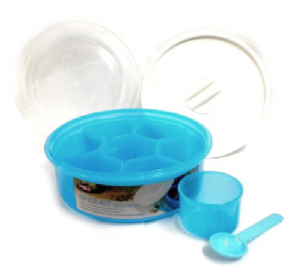 Plastic Masala Dabba Spice Kit (20cm) by Lock & Lock | Buy Online at The Asian Cookshop.